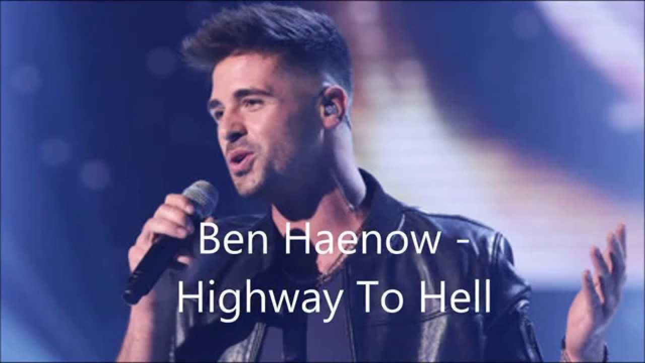 ben haenow highway to hell lyrics youtube. Black Bedroom Furniture Sets. Home Design Ideas
