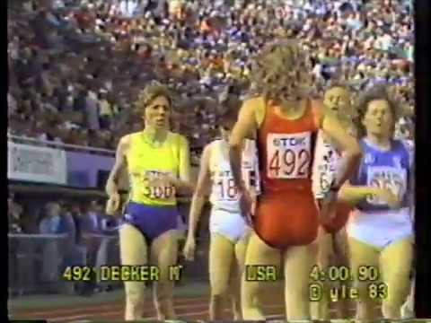 1983 IAAF World Track and Field Championships - Day 7
