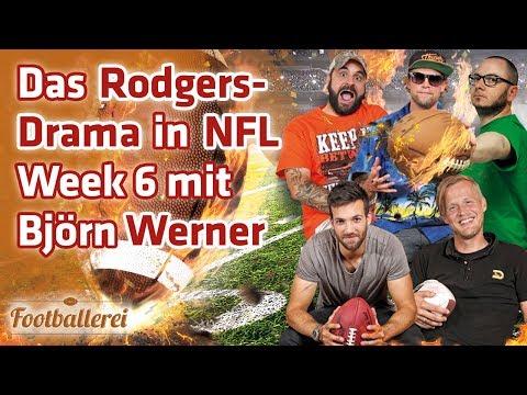 Das Rodgers-Drama: Alles zu Week 6 in der NFL | Footballerei SHOW