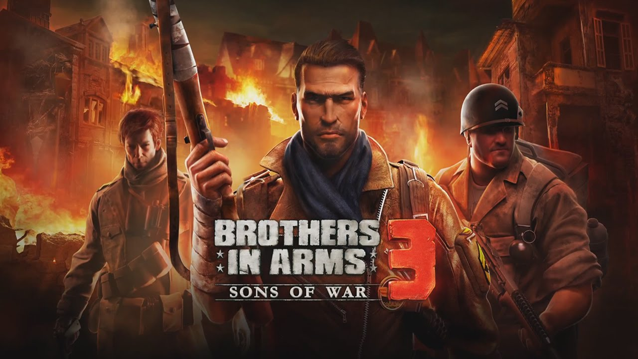 game mobile bắn súng hay nhất, game bắn súng, Brothers in Arms 3, game mobile, tải game Brothers in Arms 3, Call of Duty, Modern Combat 5, Deus Ex: The Fall, Frontline Commando 2