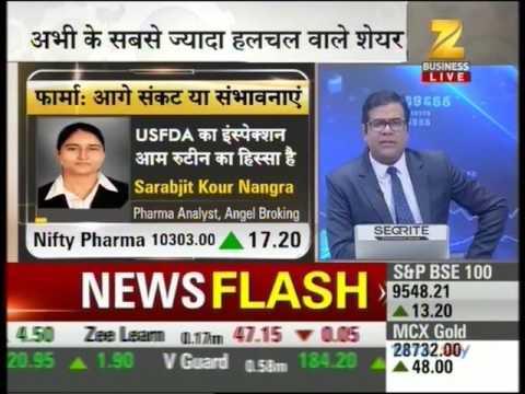 Zee Business Sensex Strategy, 10  April 2017 - Ms. Sarabjit Kour Nangra, Angel Broking