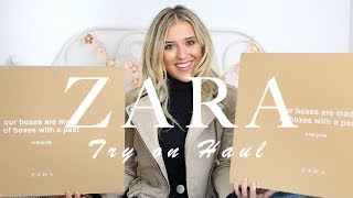 One of Em Sheldon's most viewed videos: ZARA TRY ON HAUL - AUTUMN/FALL | Em Sheldon