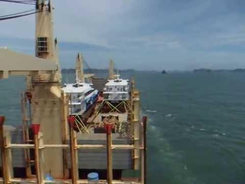 #12 Onboard MV Rickmers Singapore - Breakbulk Cargo Onboard