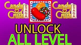 Candy Crush Saga Unlock All Levels 2016