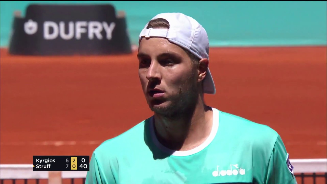 Fun Tennis from Entertaining Kyrgios v Struff Match | Madrid 2019