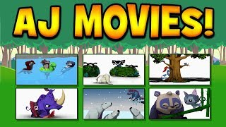 Watching Animal Jam Movies + Changing My Name!