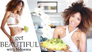 Raw Vegan Zucchini Pasta Recipe With Dairy Free Creamy Cashew Sauce | The Global Girl