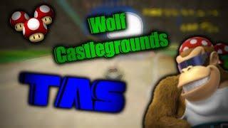 [MKWii TAS] Wolf Castlegrounds TAS - 2:25.568