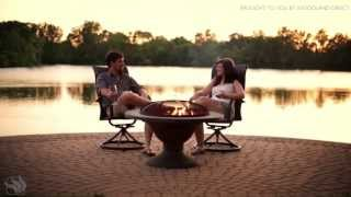 Bronze Fire Pit Table