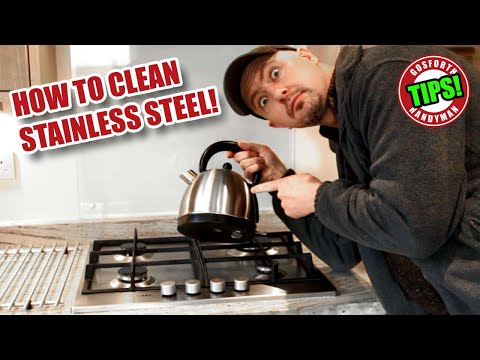 How to Clean Stainless Steel - DIY Tips!