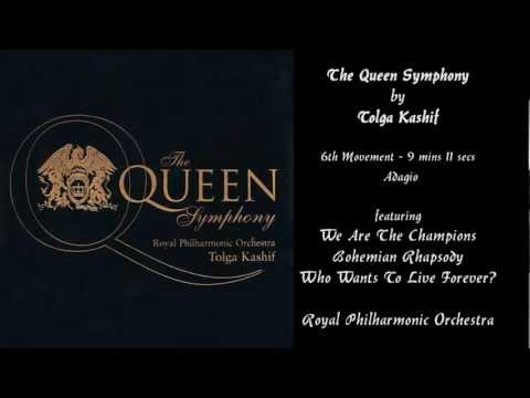 TOLGA KASHIF - The QUEEN Symphony - An Anthology of the Works of Freddie Mercury and Queen.