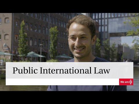 Master | Public International Law | University of Amsterdam