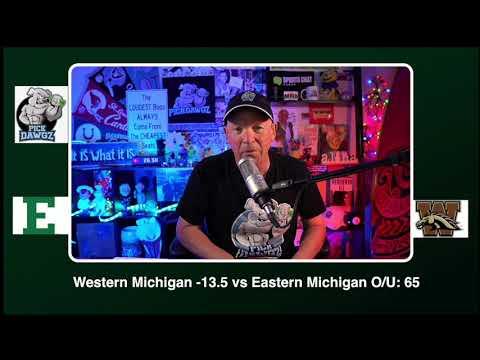 Western Michigan vs Eastern Michigan 12/5/20 Free College Football Picks and Predictions CFB Tips