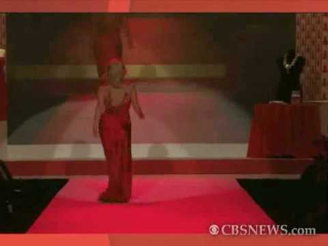 Kristin Chenoweth Heart Truth's Red Dress Collection 2010