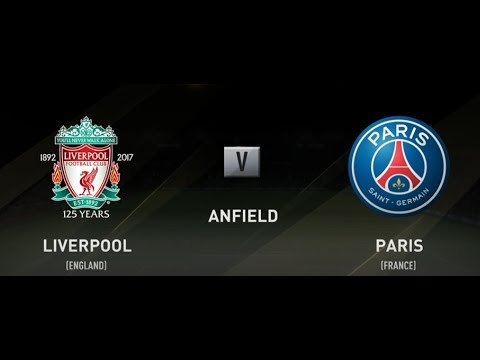 LIVERPOOL VS PSG FIFA 18 XBOX ONE S 2018 FULL MATCH GAMEPLAY (1080 IN HD)