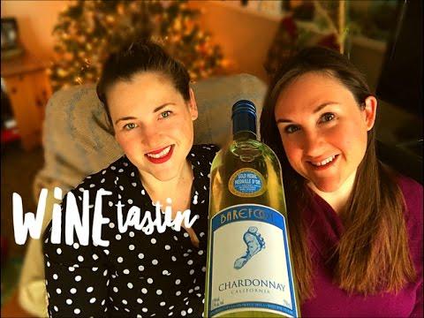 Barefoot Chardonnay White Wine Review || Wine Tasting