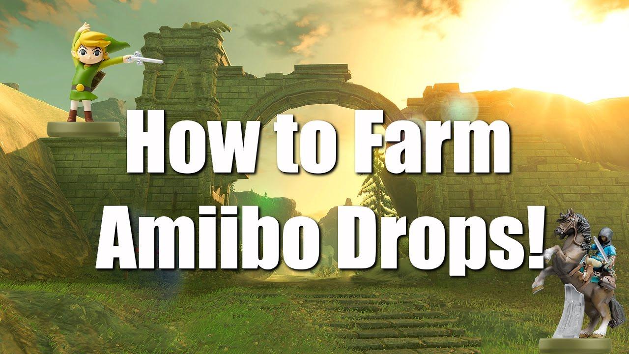 Breath Of The Wild Tricks How To Farm Amiibo Youtube