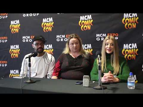 EVE Poppy Lee Friar London MCM Comic Con Round Table  Airlim