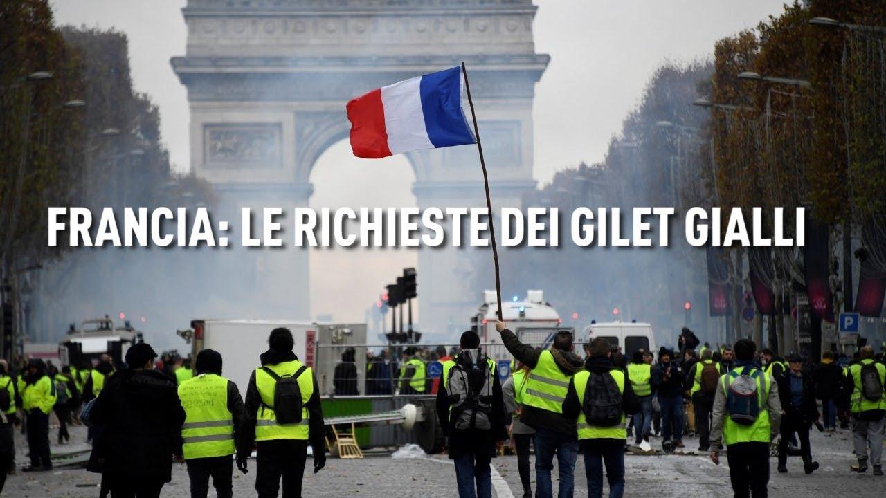 PTV News - 03.12.18 - Francia: le richieste dei gilet gialli