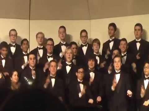 "Emmaus High School Chorale sings ""Kwela Kwela"""