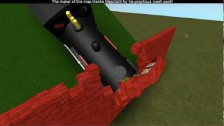 Asher crear aventura de tren de vapor roblox usando donald / juego de juego / accidentes suceden