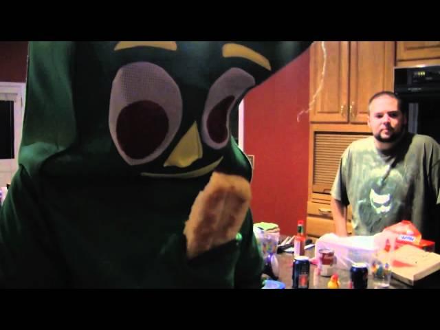 Seamus gets a Midnight Snack