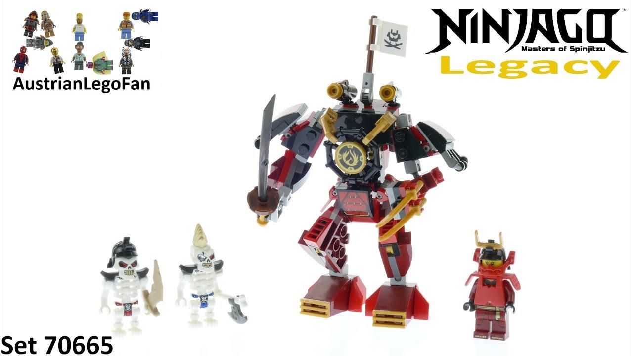 9b40888d65439 Lego Ninjago Legacy 70665 The Samurai Mech - Lego 70665 Speed Build ...