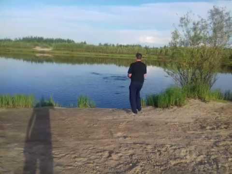 Рыбалка на 31 карьере Лангепас 24.07.2017