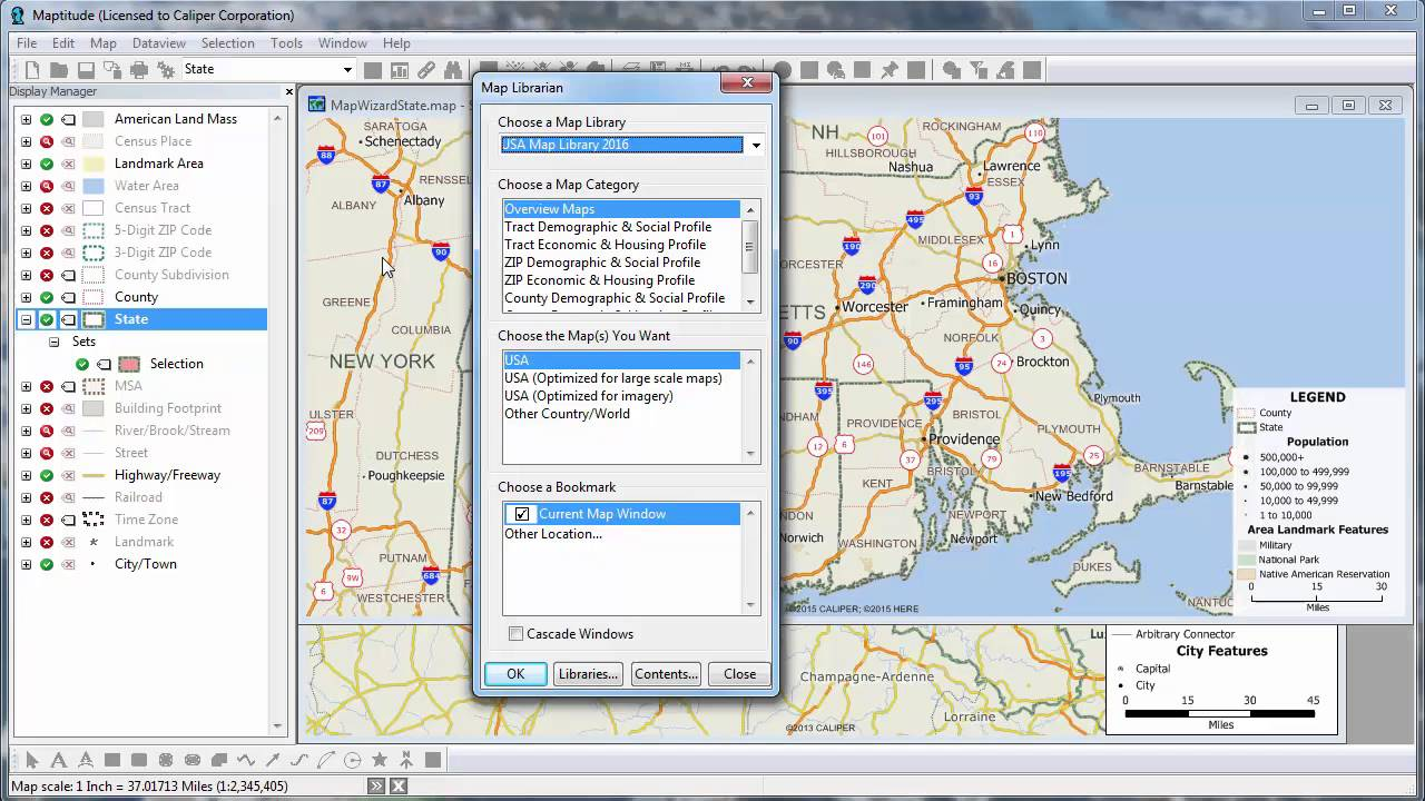Map Creator.Maptitude 2016 Mapping Software Map Creator