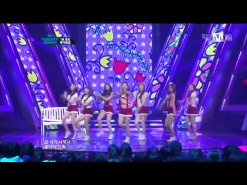 [HD 720p] 120107 A Pink - It Girl + My My Live @ M! Countdown