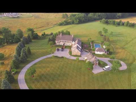 Beautiful Philadelphia Farm, DJI Phantom 3S Drone Footage