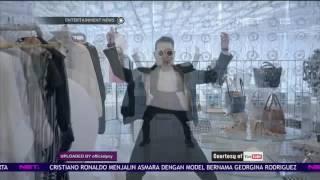 Kedatangan Psy di Bandara Soekarno Hatta