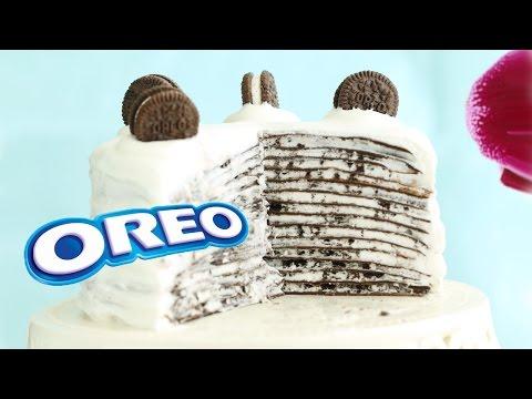 Oreo Mille Crepe Cake Mille Crepes - No-Bake Recipe
