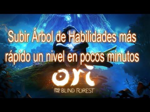 Ori and the Blind Forest subir Árbol de Habilidades más rapido un nivel en poco tiempo