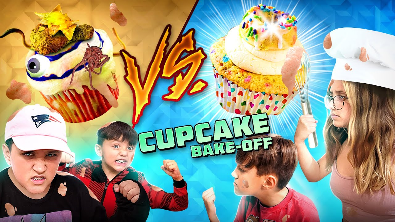 CUPCAKE CHALLENGE! Tie-Breaker Edition! (FV Family 2021 Bake Off)