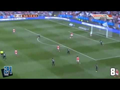 Espectacular Tiki-taka do Benfica dá o 2º Golo de Lima contra a AAC (Completo)