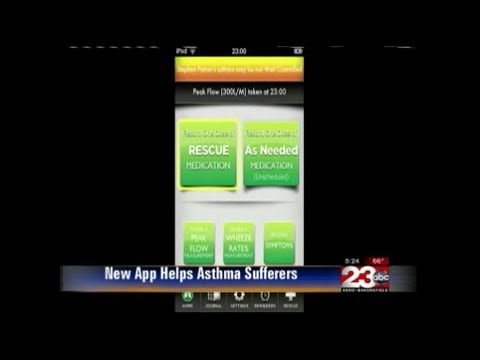 New app claims to help asthma sufferer's