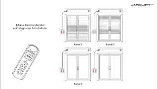 Funkempfänger - Einfachtaster TDRR 01W von JAROLIFT