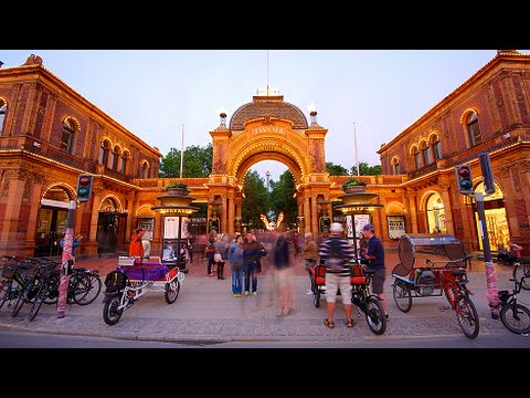 Tivoli Gardens, Amusement Park in Copenhagen, Denmark - Best Travel Destination