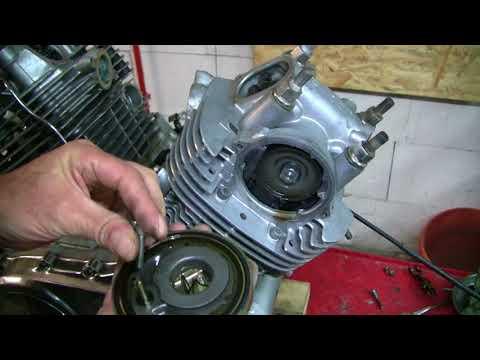 Yamaha Virago 1000, Teil 15: Motor Lackiert