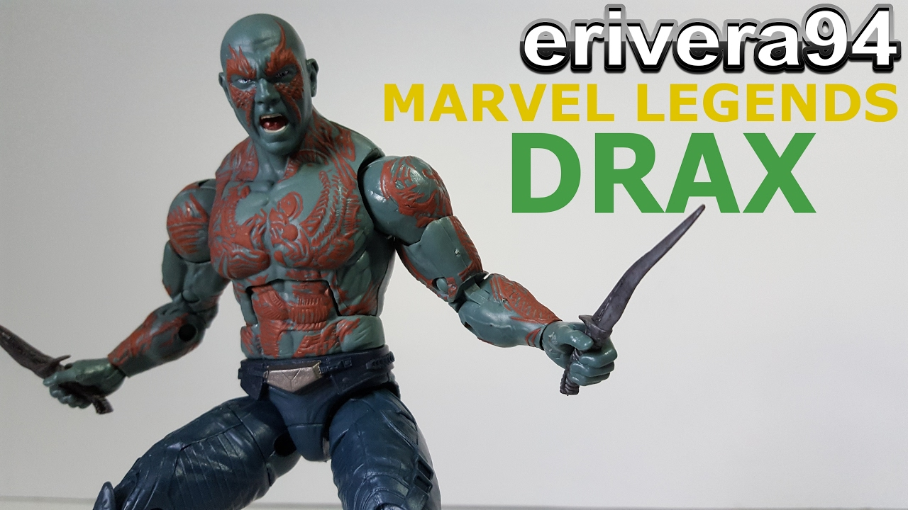 Marvel Legends Guardians of the Galaxy Drax Action Figure,6 Inch