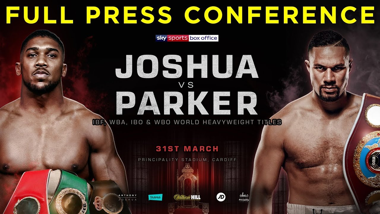 Image result for Anthony Joshua vs Joseph Parker live Fight pic