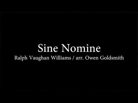 Cowichan Camerata 2017 - Sine Nomine – Ralph Vaughan Williams / arr. Owen Goldsmith