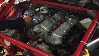 Lancia 037 rally engine start!!