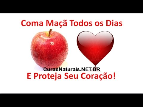 Coma maçã todos os dias e proteja o seu coração