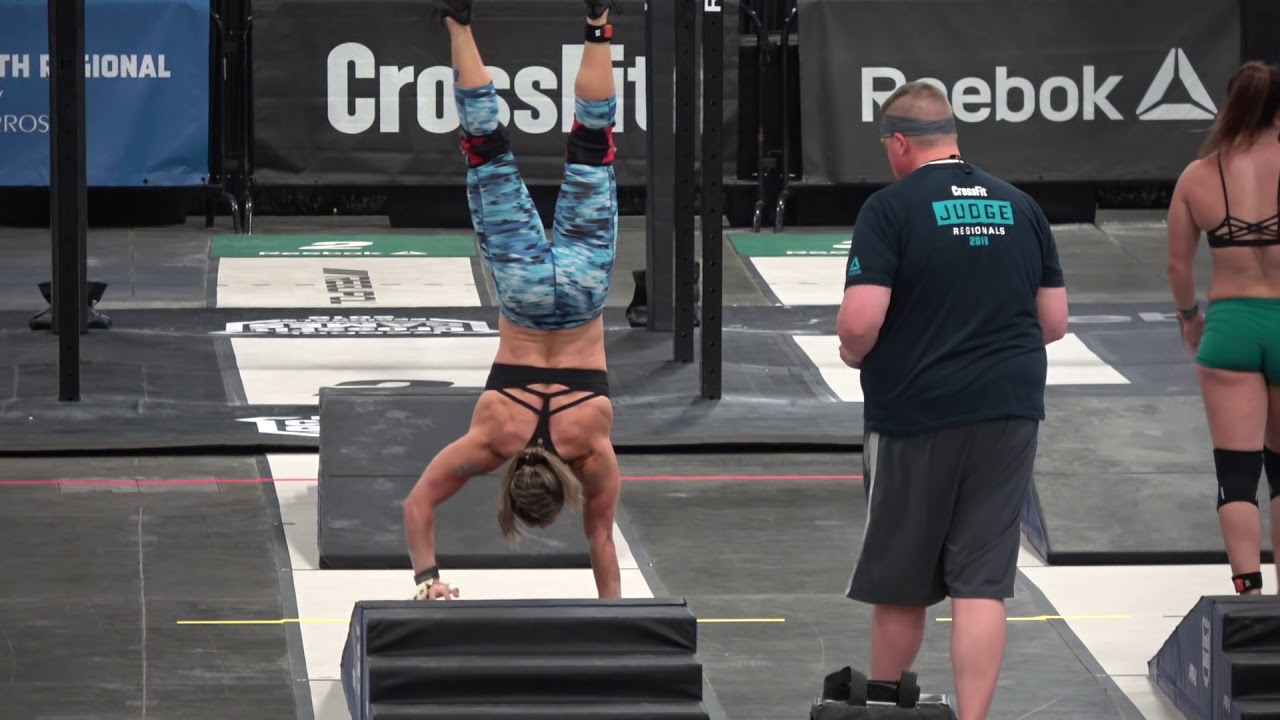 2018 Crossfit Games Regionals Event 3 Claire Youtube