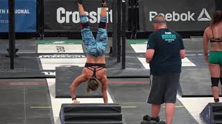 2018 Crossfit Games Regionals Event 3 (Claire)