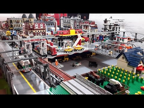 LEGO Table Expansion Top Secret Area Or Parking Lot YouTube