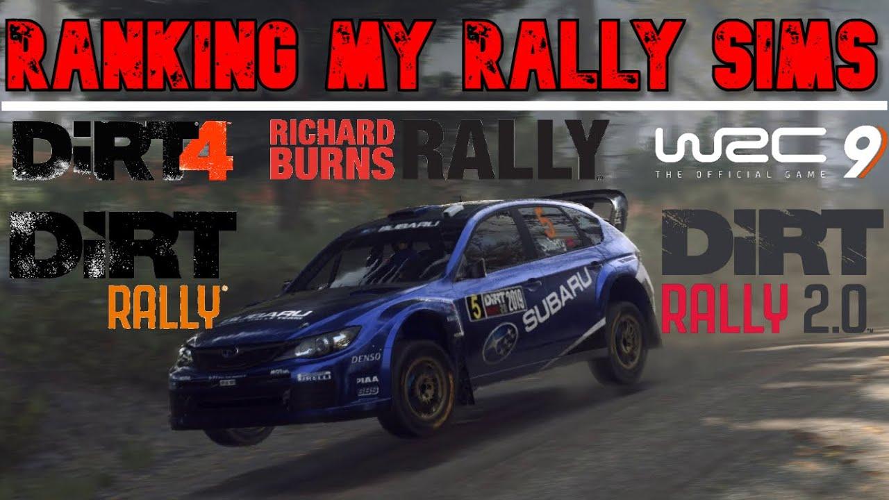 Video: SimRacing604 rank the Top 5 Rally Sims