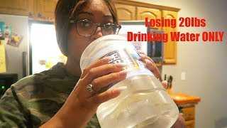 Losing 20Lbs in 7 days | Water FASTING for 7 days